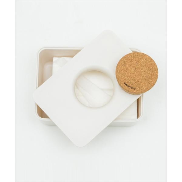 ケース 詰替 おしりふき 出産準備 出産祝い モノトーン シンプル [b2c ウェットティッシュホルダー(コルク蓋タイプ)] sarasa-designstore 06
