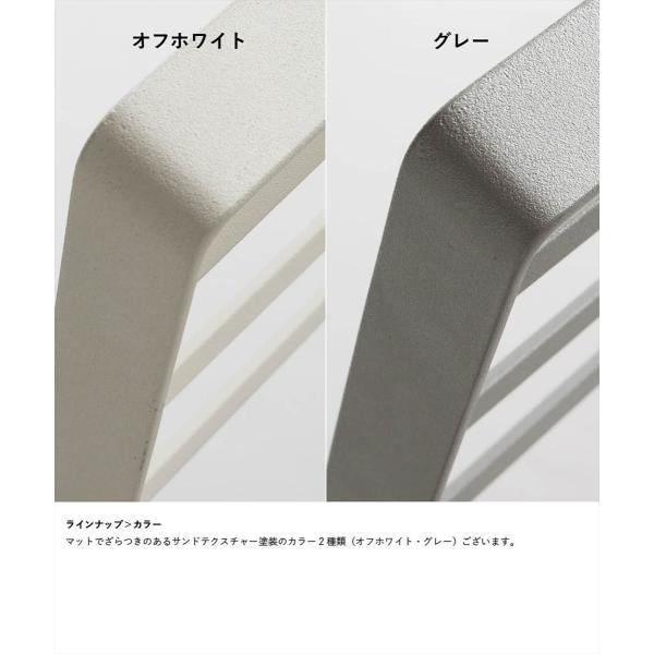 タオル掛け 洗面所 脱衣所 スリム 薄型 シンプル モノトーン [nsp タオルスタンド L ]#SALE_BT|sarasa-designstore|02