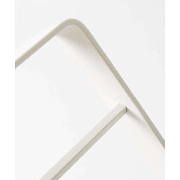 タオル掛け 洗面所 脱衣所 スリム 薄型 シンプル モノトーン [nsp タオルスタンド L ]#SALE_BT|sarasa-designstore|04