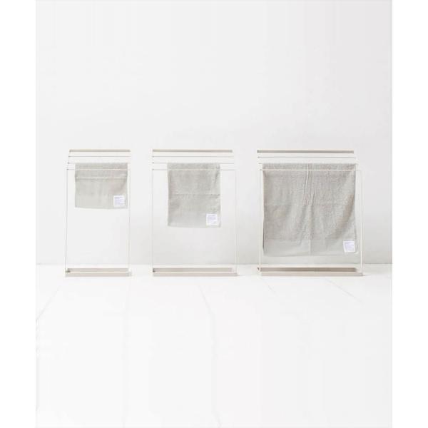 タオル掛け 洗面所 脱衣所 スリム 薄型 シンプル モノトーン [nsp タオルスタンド L ]#SALE_BT|sarasa-designstore|05