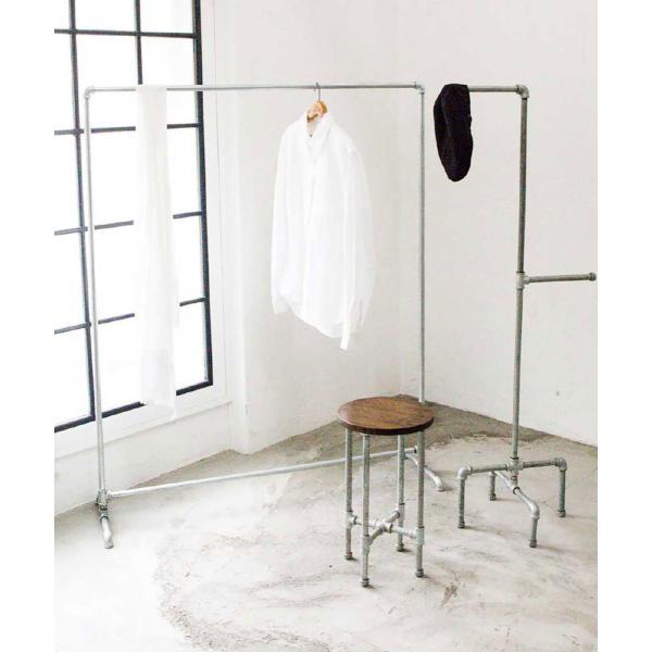 コートハンガー ハンガーラック / パイプハンガー Lサイズ|sarasa-designstore|04