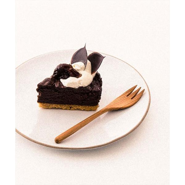 メール便対応|デザートフォークとしておすすめのチーク製のウッドカトラリー/b2cチークフォーク S|sarasa-designstore|05