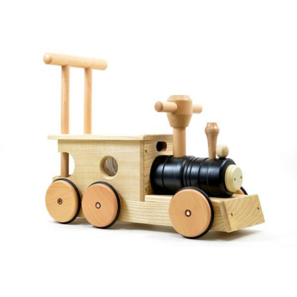 【送料無料】 幼児向け おもちゃ木のおもちゃ 玩具 知育玩具 プレゼント 【汽車ポッポ黒(木)】|sarid-cyzo|02
