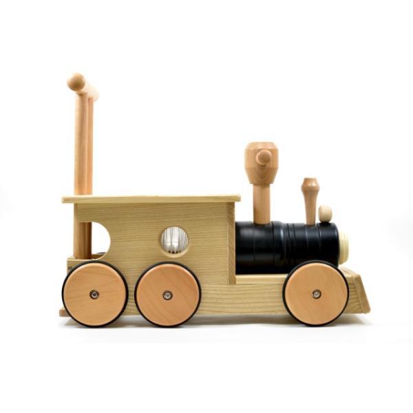 【送料無料】 幼児向け おもちゃ木のおもちゃ 玩具 知育玩具 プレゼント 【汽車ポッポ黒(木)】|sarid-cyzo|03