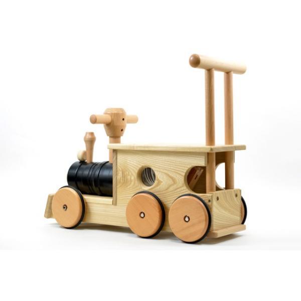 【送料無料】 幼児向け おもちゃ木のおもちゃ 玩具 知育玩具 プレゼント 【汽車ポッポ黒(木)】|sarid-cyzo|04