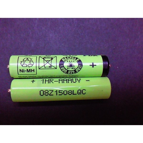 ブラウン シェーバー 蓄電池 充電池 充電 2本セット 緑/単4 sasakishoten