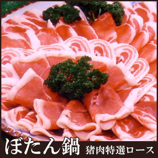 猪肉特撰ロース ぼたん鍋・焼肉用(単品100g) 兵庫県産