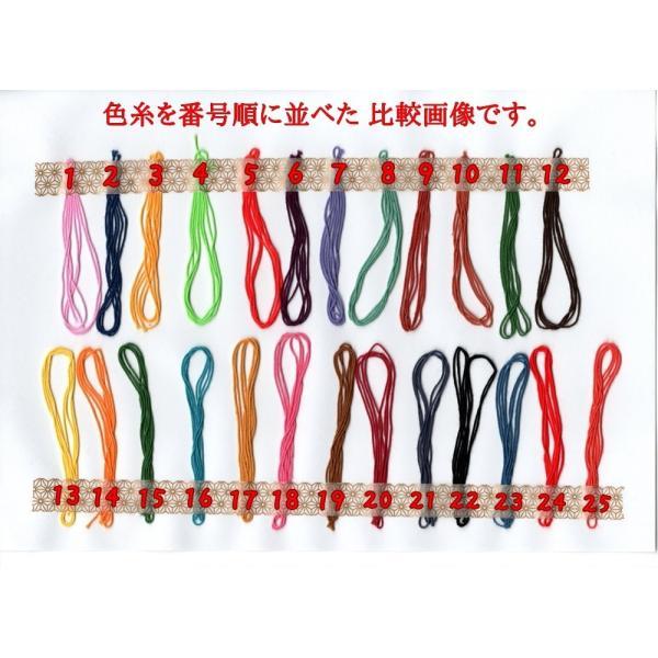 刺し子糸 【小鳥屋オリジナル】 (色番号17) sashiko-odoriya 02