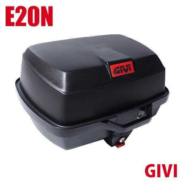 GIVI ジビ トップケース モノロックケース リアボックス E20N 容量 39L ハードケース 未塗装ブラック 高品質 バイク用 GIVIケース テールボックス