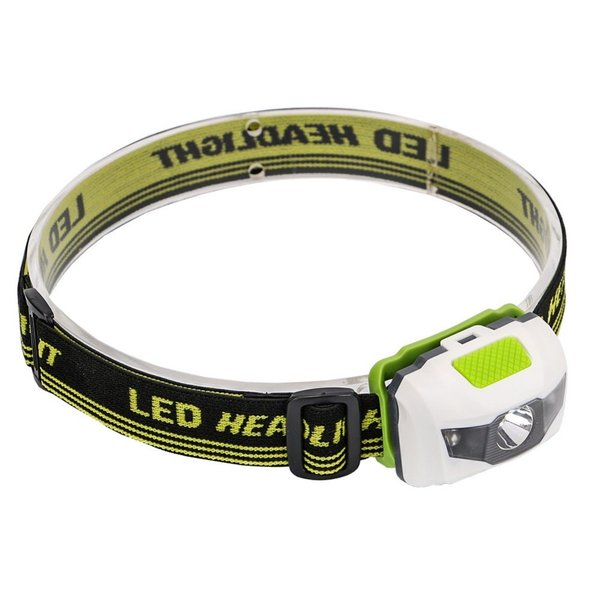 4モード搭載 角度調整可能なヘッドライト ポータブル ミニ 高輝度LED ヘッドランプ ヘッド懐中電灯 トーチランプ トーチライト