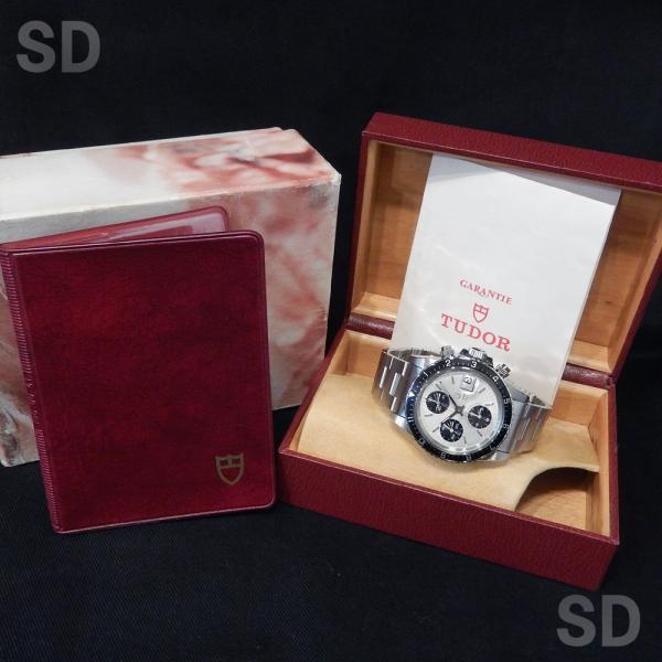 【中古】 チュードル メンズ クロノタイム (Ref:79170) シルバー satindollwatch 05