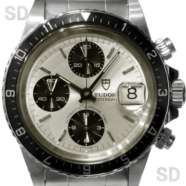 【中古】 チュードル メンズ クロノタイム (Ref:79170) シルバー satindollwatch 02