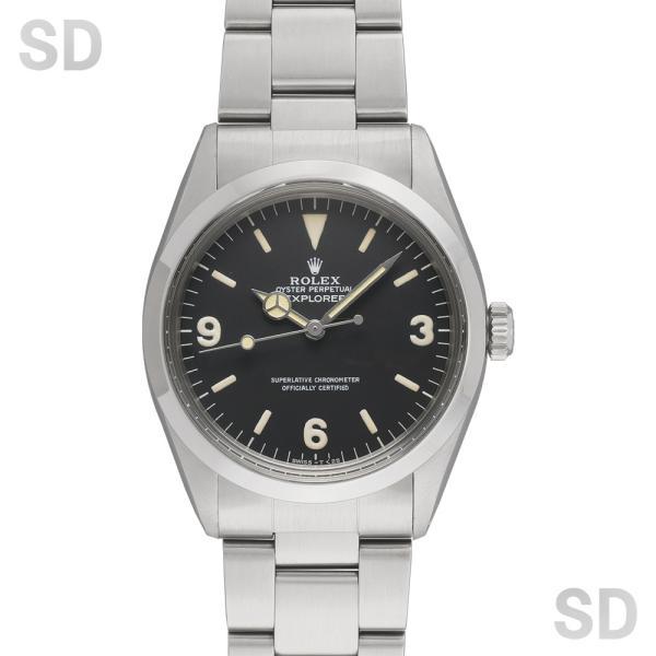 【アンティーク】 ロレックス メンズ エクスプローラーI (Ref:1016) ブラック|satindollwatch