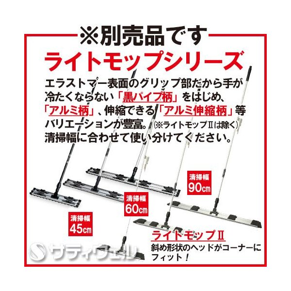 テラモト ライトダスター E-65 100枚入 CL-357-465-0|satiwel-y|02