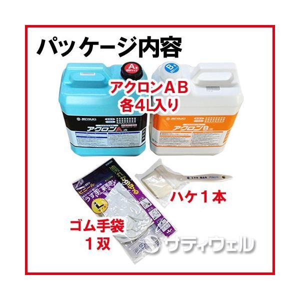 【送料無料】【医薬用外劇物】ミヤキ アクロンABセット 4L satiwel-y 03
