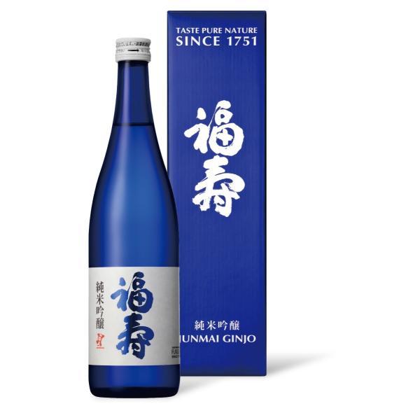 福寿 純米吟醸 化粧箱入り 720ml