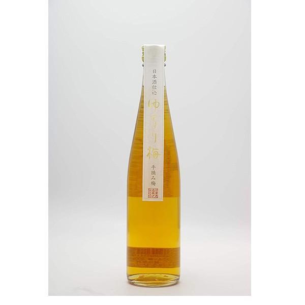 日本酒仕込 ゆるり梅 500ml 日本酒 リキュール|satozake