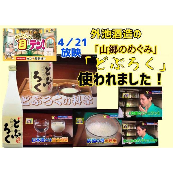 TVで紹介 日本酒 山郷のめぐみ どぶろく 600ml 2本セット 酒蔵から直送|satozake|07