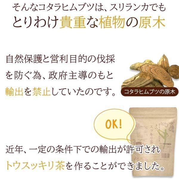 ダイエット お茶 コタラヒム トウスッキリ茶 30包 カロリーオフ カット 即納|satuma|06