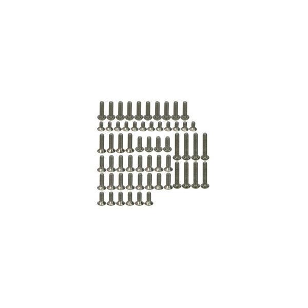 ●京商LazerレーザーZX-5用チタンスクリューセット,TS-ZX5/V1