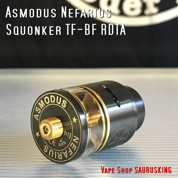 Asmodus Nefarius Squonker TF-BF RDTA 25mm color:Black /  アスモダス ネファリウス *正規品*|saurusking|02