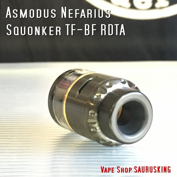 Asmodus Nefarius Squonker TF-BF RDTA 25mm color:Black /  アスモダス ネファリウス *正規品*|saurusking|03