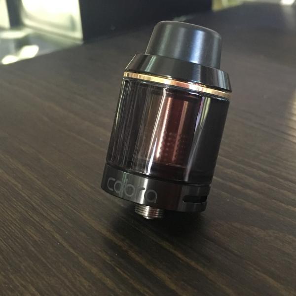 Asvape Cobra Color:Black / アスベイプ コブラ サブオームタンク アトマイザー ブラック*正規品*|saurusking