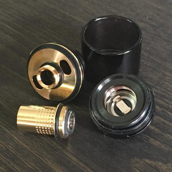 Asvape Cobra Color:Black / アスベイプ コブラ サブオームタンク アトマイザー ブラック*正規品*|saurusking|03