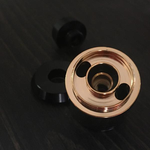 Asvape Cobra Color:Black / アスベイプ コブラ サブオームタンク アトマイザー ブラック*正規品*|saurusking|04