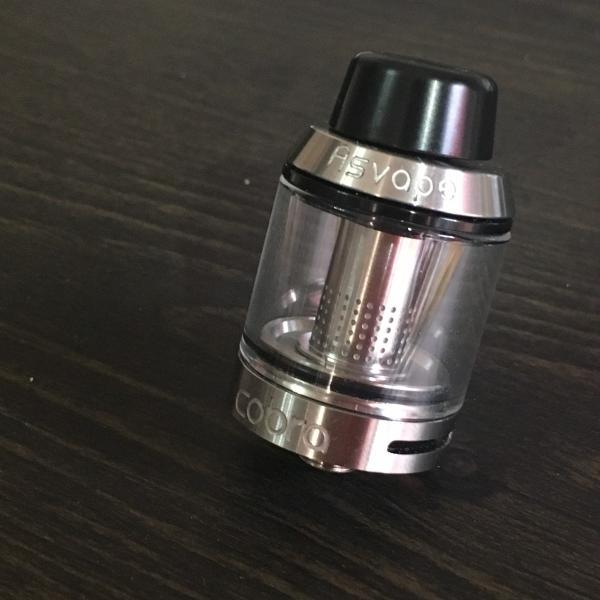 Asvape Cobra Color:Silver / アスベイプ コブラ サブオームタンク アトマイザー シルバー*正規品*|saurusking