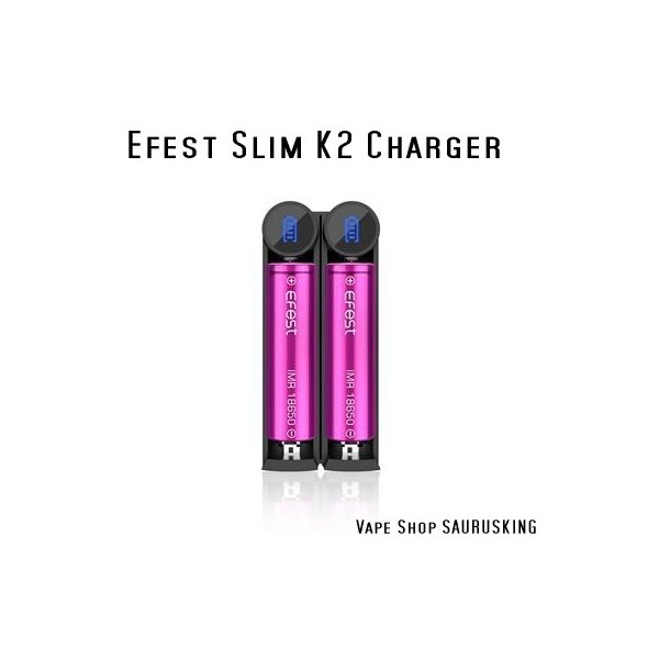 Efest Slim K2 Charger VAPE用バッテリーチャージャー*正規品*|saurusking|02