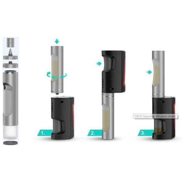 Flask Liquid Dispenser 30ml by Geek Vape / フラスク リキッド ディスペンサー シリコン ボトル リキッドチャージに saurusking 02