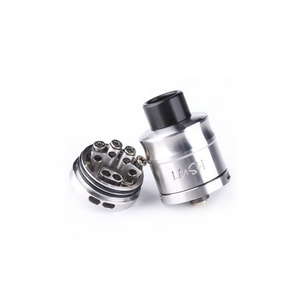 Wotofo Lush Plus RDA 24 / Silver  ウォトフォ ラッシュ プラス RDA 24mm シルバー*正規品*|saurusking