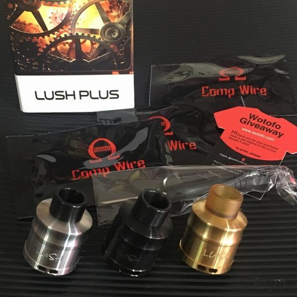 Wotofo Lush Plus RDA 24 / Gold  ウォトフォ ラッシュ プラス RDA 24mm ゴールド*正規品*|saurusking|05
