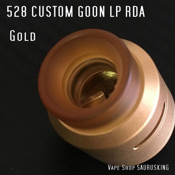 Goon LP RDA 528 Custom 24 Color:Gold / グーン LP RDA 24mm 528カスタムゴールド*正規品*|saurusking|04