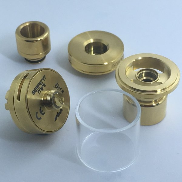 Wotofo Serpent mini 22 / Gold  ウォトフォ サーペントミニ22 ゴールド*正規品*|saurusking|03