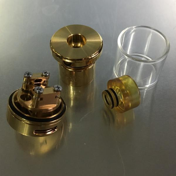 Wotofo Serpent SMM RTA 24 / Gold ウォトフォ サーペント SMM ゴールド*正規品*VAPE Atomizer Suck My Mod|saurusking|03