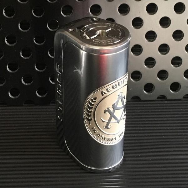 Asvape Strider VO75 TC Box Mod / Logo Silver アスベイプ ストライダー ロゴシルバー*正規品*VAPE BOX MOD|saurusking|02