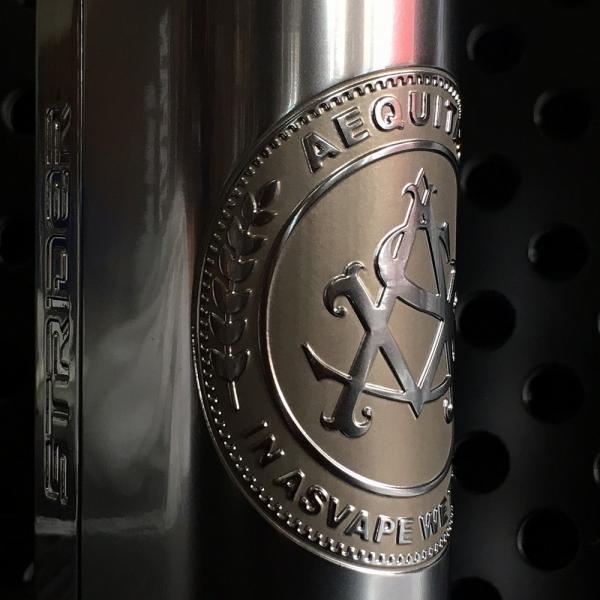 Asvape Strider VO75 TC Box Mod / Logo Silver アスベイプ ストライダー ロゴシルバー*正規品*VAPE BOX MOD|saurusking|06