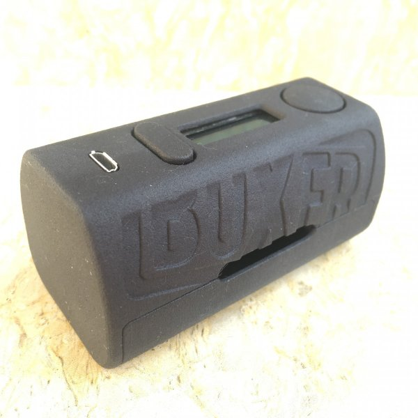 Boxer Mod Classic 167W DNA250 by Ginger Vaper / Black ボクサー クラシック DNA250チップ ブラック*正規品*VAPE BOX MOD saurusking 02