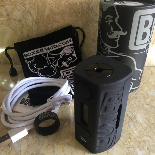 Boxer Mod Classic 167W DNA250 by Ginger Vaper / Black ボクサー クラシック DNA250チップ ブラック*正規品*VAPE BOX MOD saurusking 05