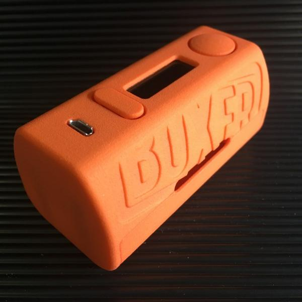 Boxer Mod Classic 167W DNA250 by Ginger Vaper / Orange ボクサー クラシック DNA250チップ搭載 オレンジ*正規品*VAPE BOX MOD saurusking 02