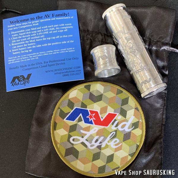 AV Avid Lyfe Raw Aluminum Vaping Hooligan Able Mod [Alumium] / アヴィッドライフ エーブル メック モッド*USA正規品* VAPE|saurusking|06