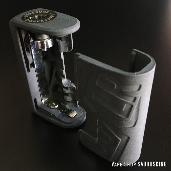 Boxer Mod Classic BF Squonk Mechanical Mod by Ginger Vaper  / Black ボクサー クラシック スコンカー メカニカルモッド / ブラック*正規品*VAPE BOX MOD|saurusking|03