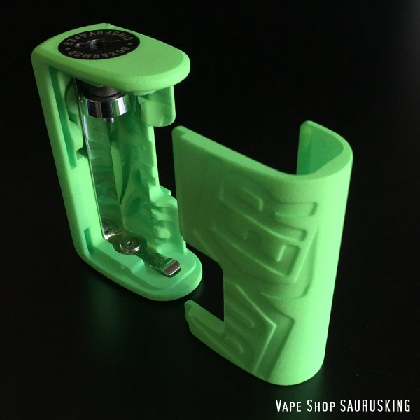 Boxer Mod Classic BF Squonk Mechanical Mod by Ginger Vaper  / Green ボクサー クラシック スコンカー メカニカルモッド / グリーン*正規品*VAPE BOX MOD|saurusking|03