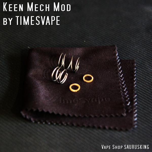 Keen Mech Mod by Timesvape color:Brass / キーン タイムズベイプ*正規品*VAPE|saurusking|06
