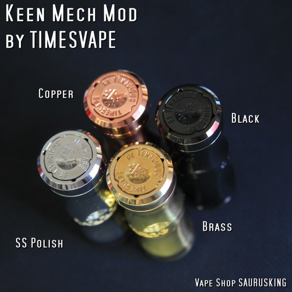 Keen Mech Mod by Timesvape color:SS polish / キーン タイムズベイプ*正規品*VAPE|saurusking|04