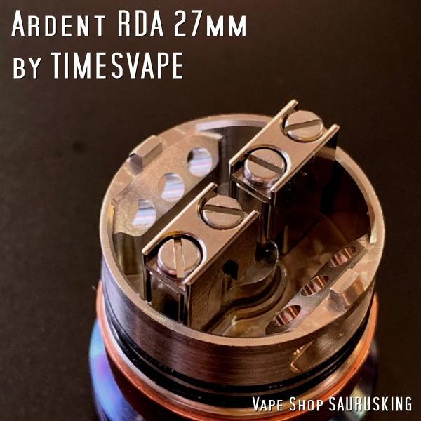 Dreamer Mech Mod + Ardent RDA kit by Timesvape color:Brass / タイムズベイプ ドリーマー アルデンテ*正規品*VAPE|saurusking|04