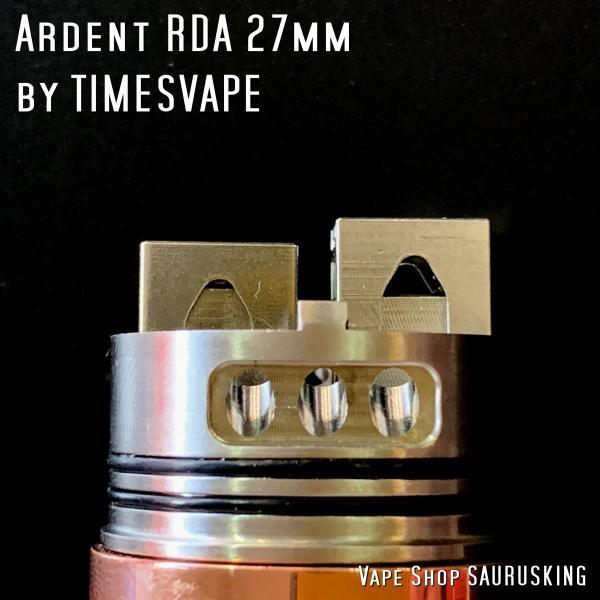 Dreamer Mech Mod + Ardent RDA kit by Timesvape color:Brass / タイムズベイプ ドリーマー アルデンテ*正規品*VAPE|saurusking|06