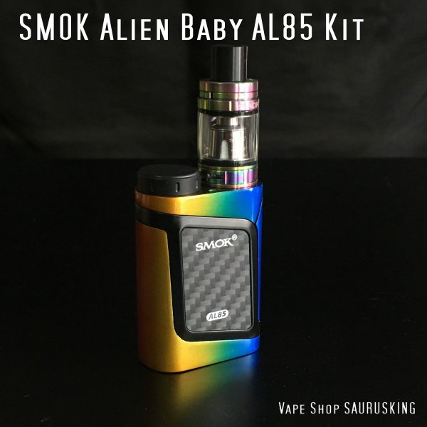 SMOK AL85 + TFV8 Baby Tank kit Color:Rainbow / スモック レインボー*正規品*|saurusking|02